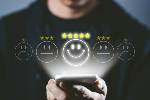 顧客の82%がサービスに「大変満足」と回答!