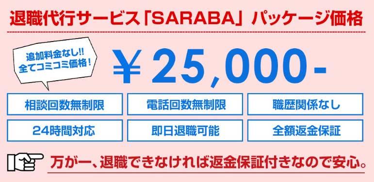 サラバ公式ホームページ価格